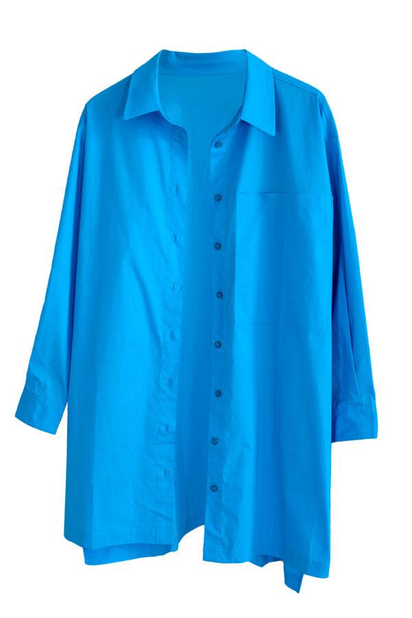 CYK_Hemd blau